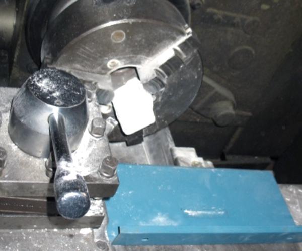 Получение стружки лантана