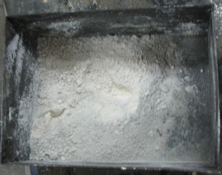Сушка и прокалка Sm2O3